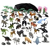 Animal Planet Animal Kingdom Mega Pack Playset - 60 Pieces offers