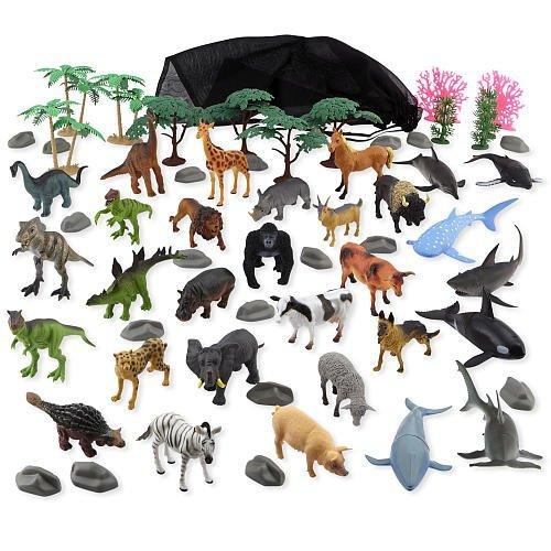 Planet Pack (Animal Planet Animal Kingdom Mega Pack Playset - 60 Pieces)