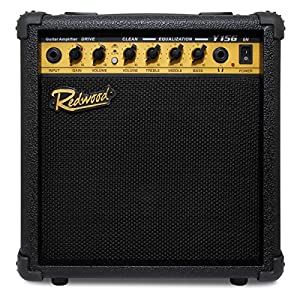 redwood y15g 15w electric guitar amplifier with drive channel musical instruments. Black Bedroom Furniture Sets. Home Design Ideas