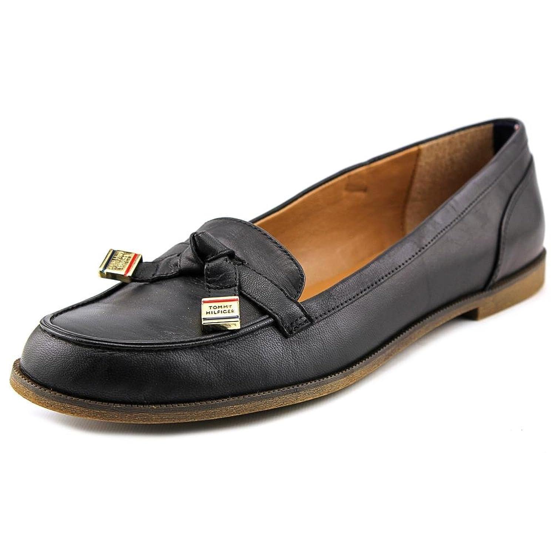 Tommy Hilfiger Women's Letyan Loafer, Black, Size 10.0