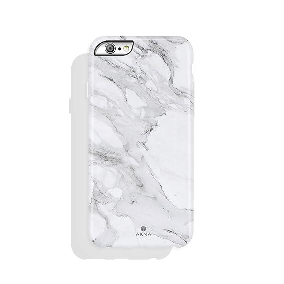 san francisco 24969 e7774 iPhone 6 Plus / 6s Plus case Marble, Akna Collection Flexible Silicon Cover  for Both iPhone 6 Plus & iPhone 6s Plus [White Granite](995-US)