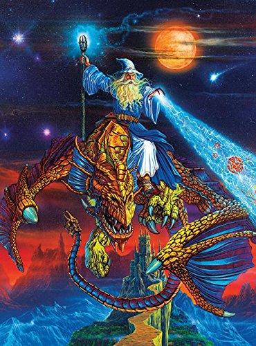 1000 piece wizard puzzle - 9