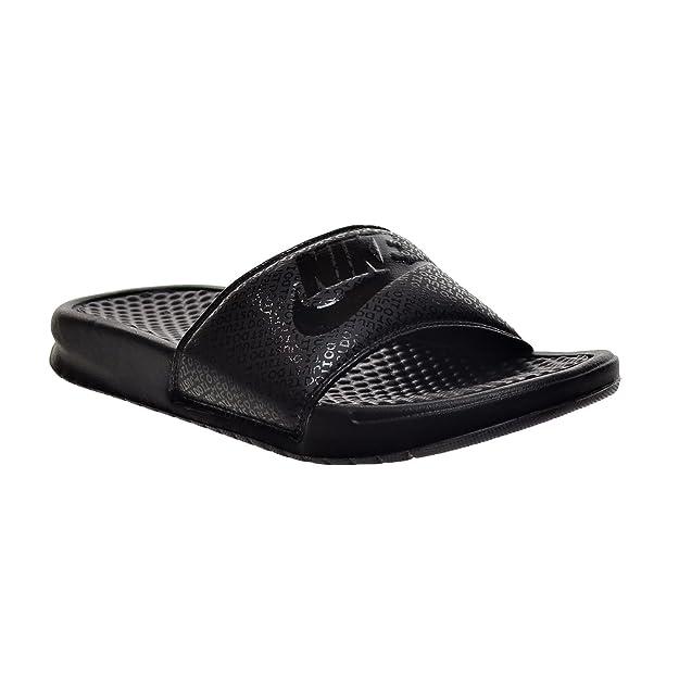 sale retailer 37ccc b6fe2 Amazon.com   Nike Benassi JDI Men s Sandals Black 343880-001 (8 D(M) US)    Sandals
