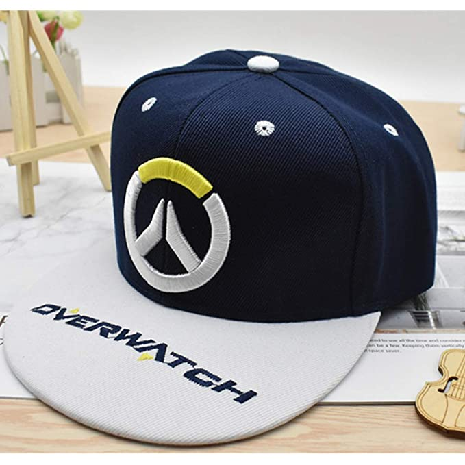 Overwatch OW Adjustable Hat Snapback Hats Cap Baseball Cosplay Fan Gift Game