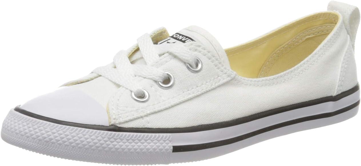 Converse Chuck Taylor Ballet Lace, Zapatillas de Estar por casa para Mujer, Blanco, 37 EU: Amazon.es: Zapatos y complementos