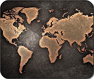 World Map Large Mousepad Mouse Pad Great Gift Idea by ruishername