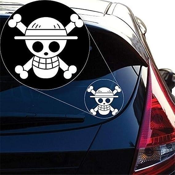 pegatina de pared Etiqueta del coche Etiqueta del coche One Piece ...