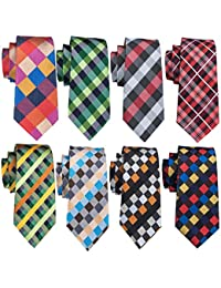 Men's Tie Set Silk Wedding Neckties Jacquard Woven Fashion Formal Business