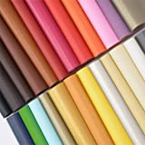 "ZIIYAN 24 Pieces 8""x13.4""(20x34cm) Colored Faux PU Leather Sheets Upholstery Crafts Fabric for Bag Making, Hat Making…"