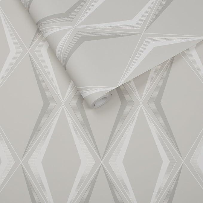 ARCHITECTURAL BEIGE MARBLE LOOK DIAMONDS W// DENTIL MOLDING TRIM WALLPAPER BORDER