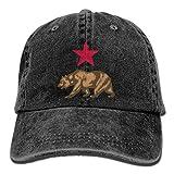 LETI LISW California FlagWashedDad Hat Adult Unisex Adjustable Cap