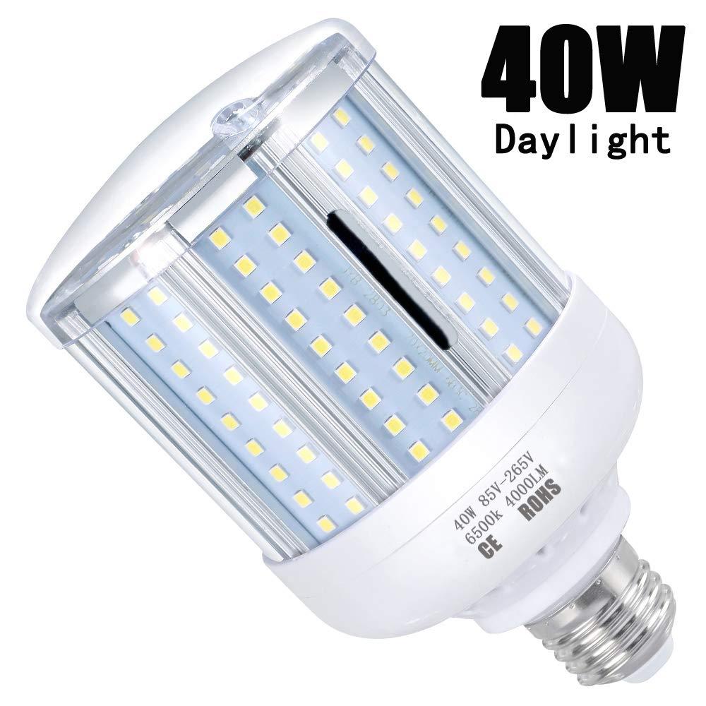 LED Corn Light Bulb 40W  Cool Daylight LED
