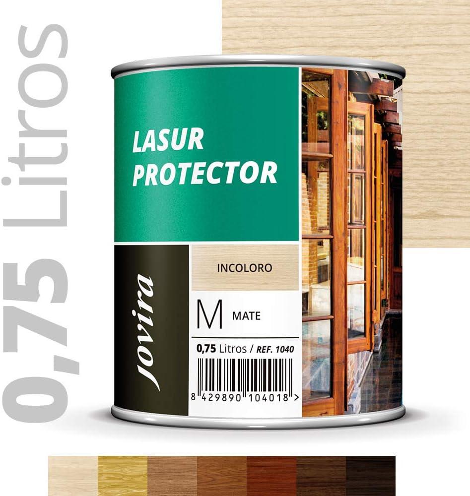LASUR PROTECTOR MATE Protege, decora y embellece todo tipo de madera (750ML, INCOLORO)