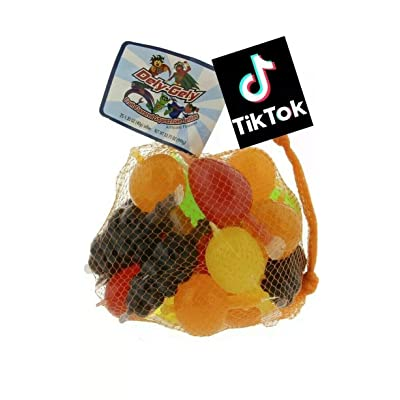 Fruit Jelly Candy TikTok Kid Party Favor Challenge Fun Party Supply Set: Toys & Games [5Bkhe0302319]