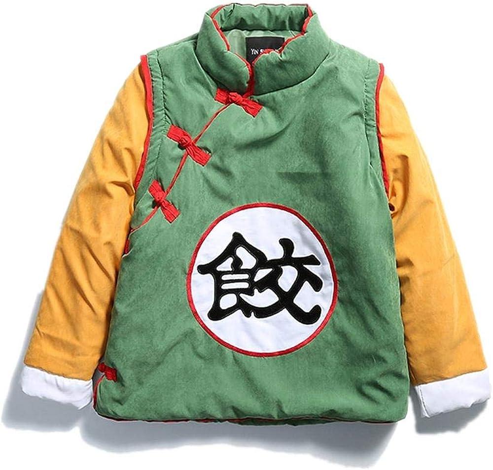 XIEZINB Chaquetas Qilongzhu Traje De Animación Collar De Hombre ...