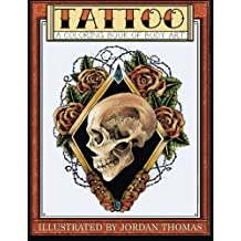 Tattoo: A Coloring Book of Body Art