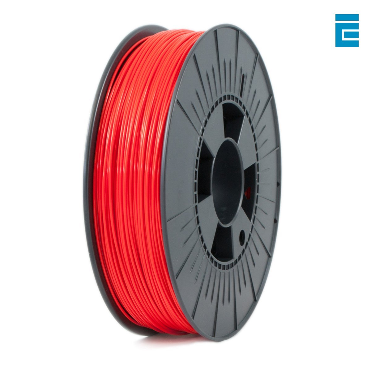 ICE FILAMENTS ICEFIL1ABS027 ABS Filament, 1.75 mm, 0.75 kg, Romantic Red DF