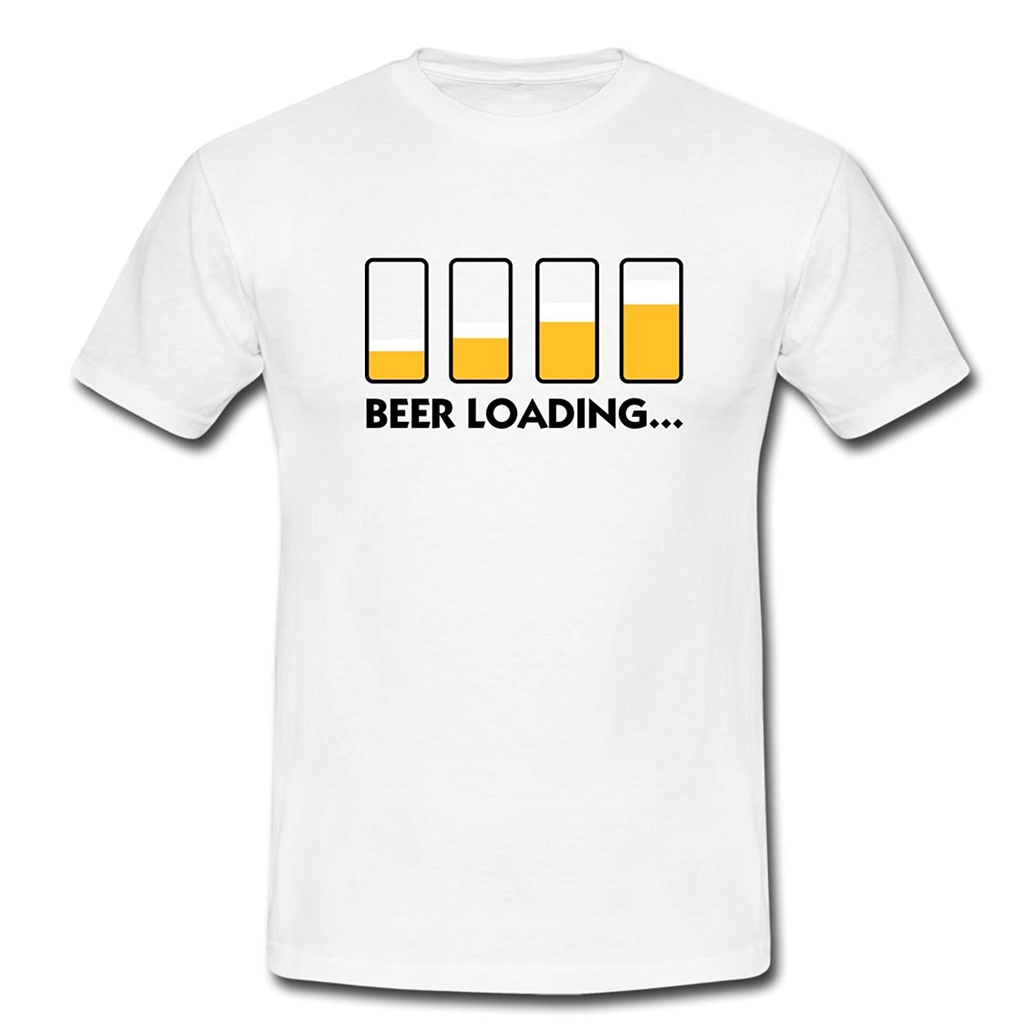 Party Beer Loading Alcohol Funny Men's T-Shirt by Spreadshirt??
