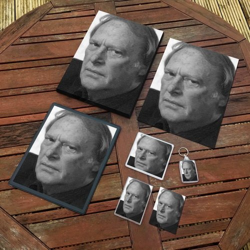 Dennis Waterman - Original Art Gift Set #js001 (Includes - A4 Canvas - A4 Print - Coaster - Fridge Magnet - Keyring - Mouse Mat - Sketch Card) Seasons