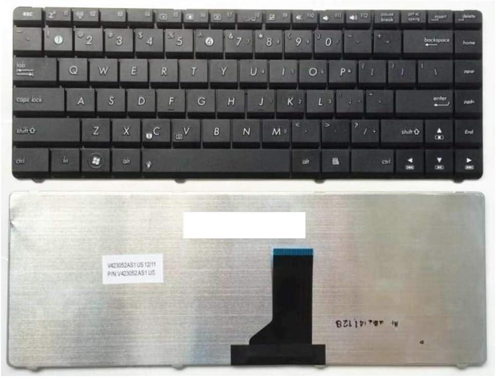 US For Asus K42 X42 X43 K43 K42D K42J Series Laptop Keyboard New English Black