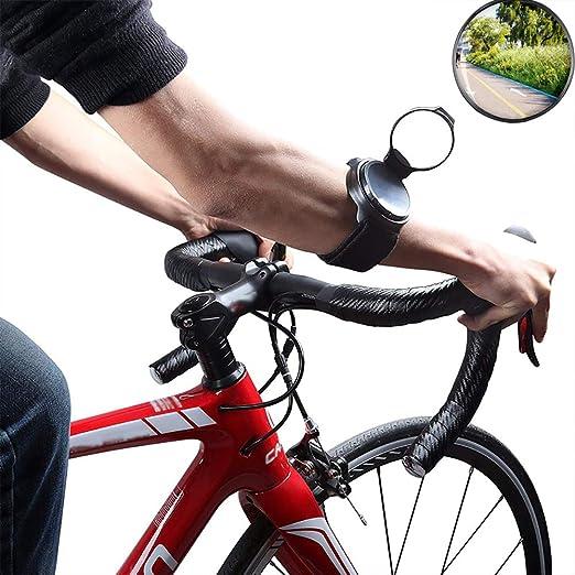 MILAYA Espejo De Bicicleta Vista Trasera Espejos De Casco De ...