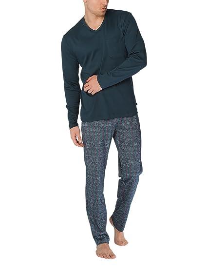para multicolor pijama David hombre Calida color ónix Herren M 808 YwtSFYxdq