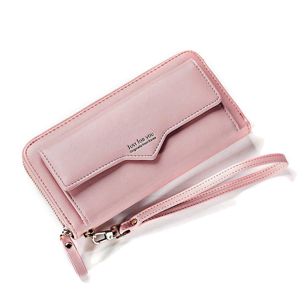 Women Cell Phone Wallet Purse Bag Leather Clutch Handbag