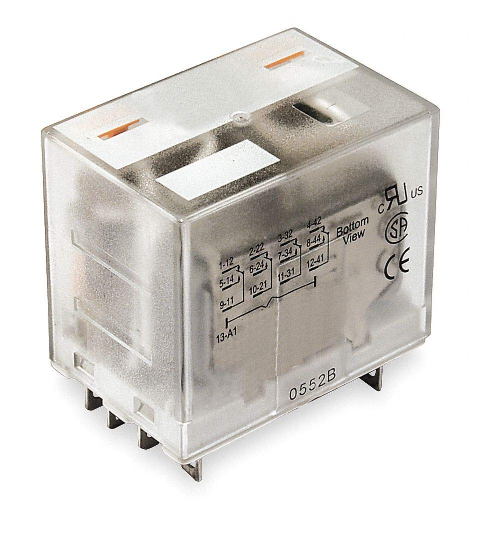 Dayton 1EHW8 Plug in Relay, 14 Pins, Square, 240Vac: Electronic Relays:  Amazon.com: Industrial & ScientificAmazon.com
