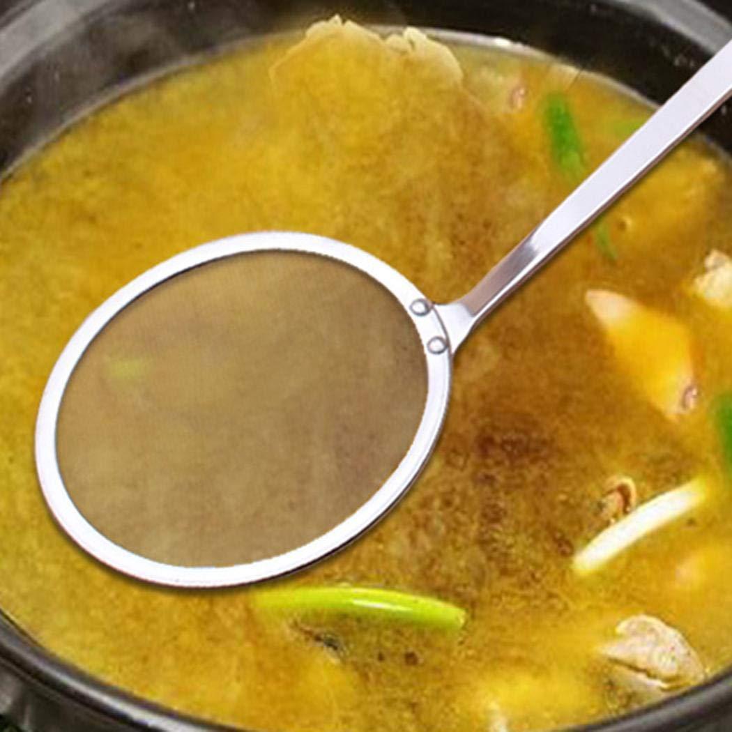 Junio1 Scolapiatti da Cucina in Acciaio Inossidabile con Filtro Ultrafine in Acciaio Inossidabile Scolapasta