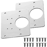 2/4PCS Hinge Side Plate Repair Piece, Hinge Repair Brackets, Cabinet Hinge Repair Brackets, Kitchen Cupboard Door Hinge…