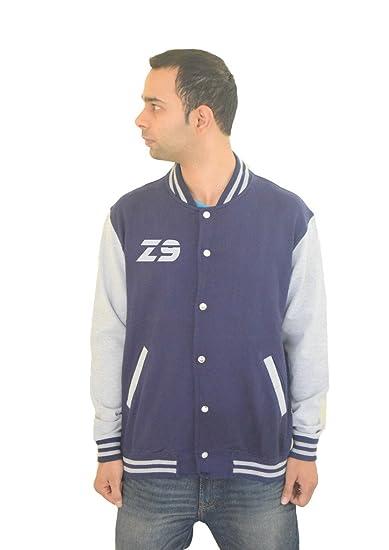 the best attitude 0d4c0 eced8 642 Stitches Zlatan Ibrahimovic Varsity Jacket: Amazon.in ...