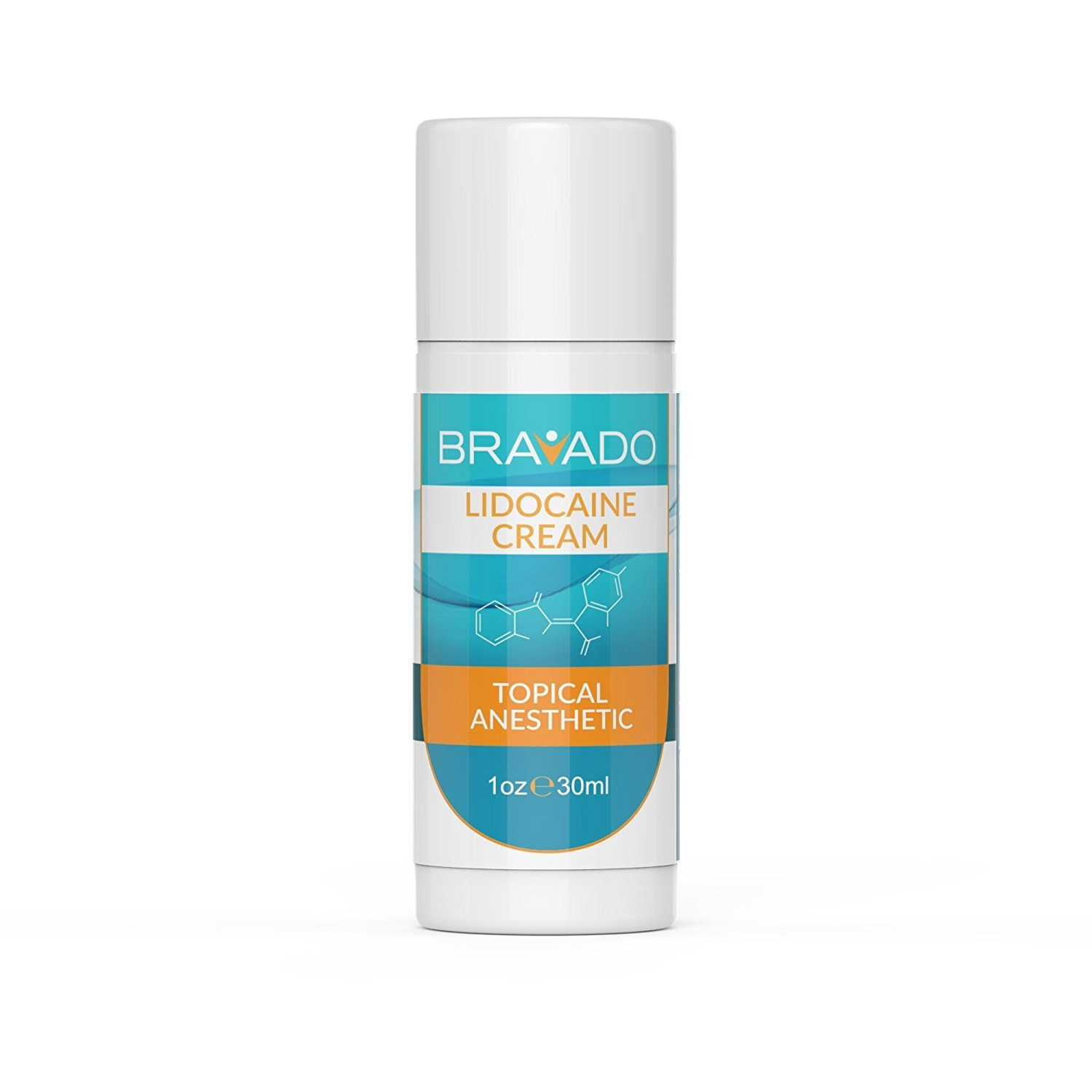 Anesthetic cream for easy hair removal
