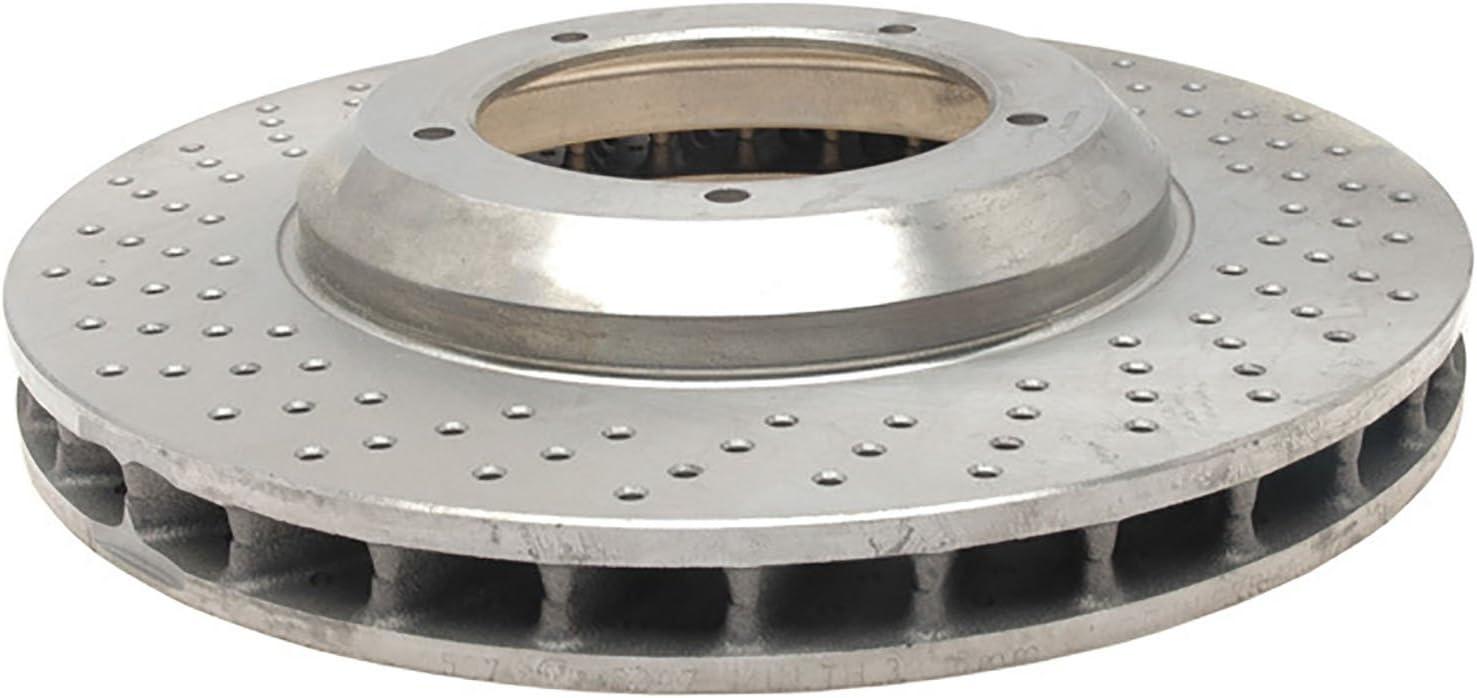 ACDelco 18A1715A Advantage Non-Coated Front Disc Brake Rotor