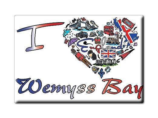 Enjoymagnets WEMYSS Bay Souvenir IMANES DE Nevera Reino Unido ...