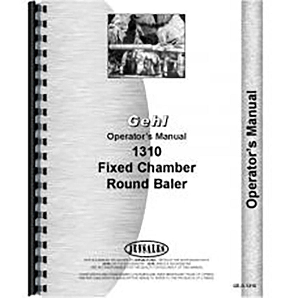 Amazon.com: New Gehl 1310 Baler Operators Manual: Industrial & Scientific