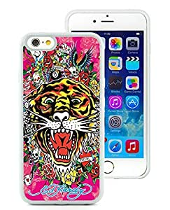 Fahionable Custom Designed iPhone 6 4.7 Inch TPU Cover Case With Ed Hardy 1 White Phone Case