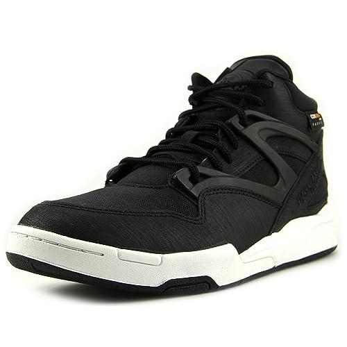5a2d0a7573c Reebok Pump Omni Lite Cordura Shoe - Black White (Men) - 8.5  Amazon ...