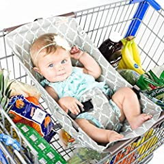SHOPPING WITH BABIES, REINVENTED               Did you know that falls from shopping carts are among the leading causes of head injuries to young children? Binxy Baby Founder Lisa Pinnell found this startling. As a mother of f...