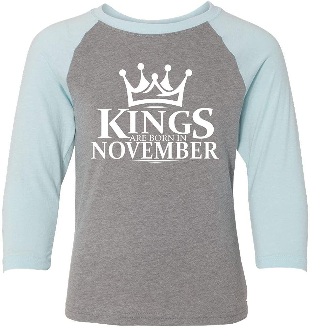 Marky G apparel Boys Kings Are Born In November T-Shirt