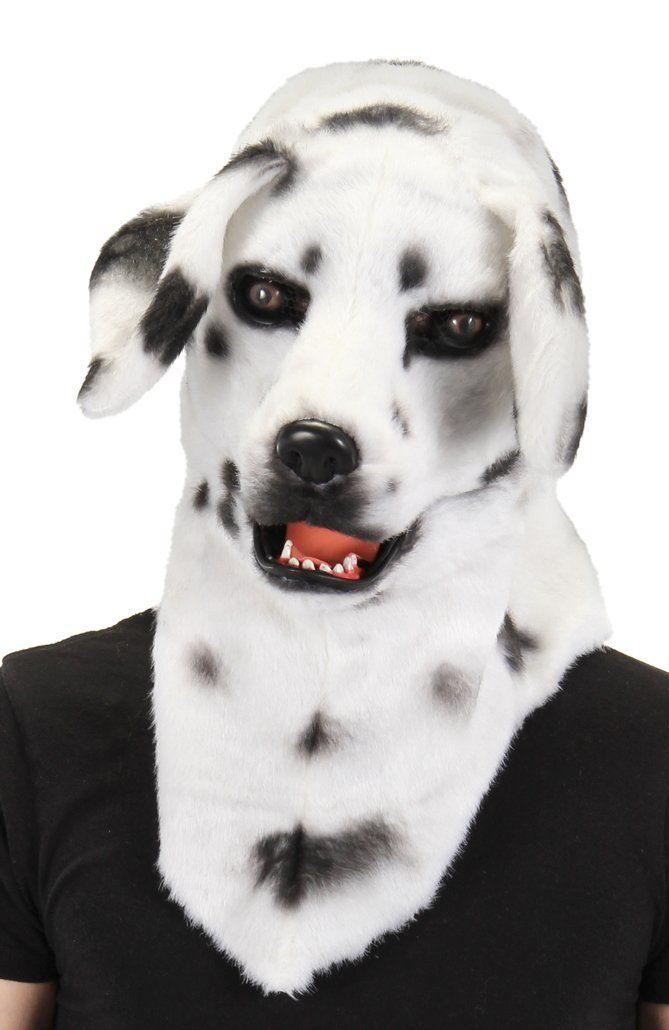 elope Dalmatian Mouth Mover Costume Mask