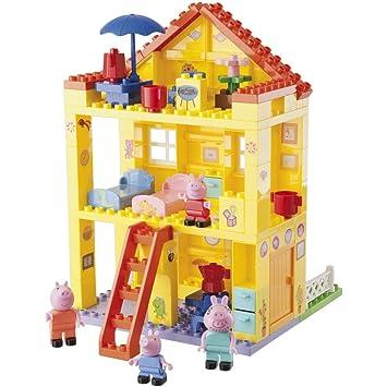 ... Peppa Pig Casa Com Jardim Dtc 4206 DTC ...