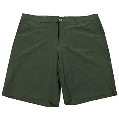 32 DEGREES Cool Men's All Time Performance Stretch Flat Front Shorts at Men's Clothing store