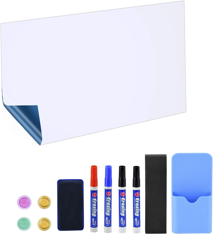 Photo de poprun-90x60cm-tableaux-blancs-whiteboard-auto-adhesive