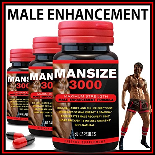 (MANSIZE 3000 MALE ENLARGER XL SEXUAL PERFORMANCE ENHANCEMENT PILLS BEST MALE TESTOSTERONE MALE PENIS ENLARGER GROWTH PILLS SEX ENHANCER BIG DICK)