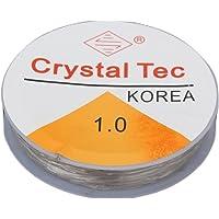 10m 1.0mm Crystal Elastic Beading Cord String Thread for Necklace Bracelet DIY