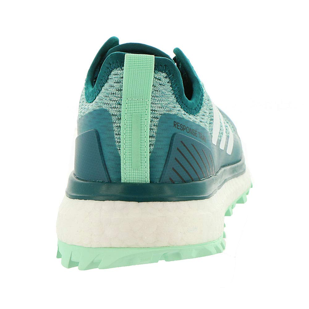 adidasBB6609 - Response Trail Femme Bleu Sarcelle/Blanc