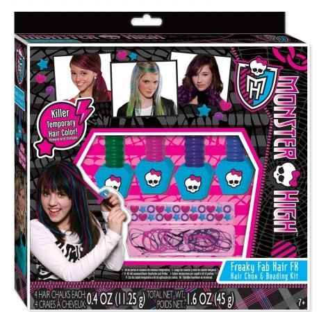 Fashion Angels Enterprises Monster High Hair Chox And Beading Kit