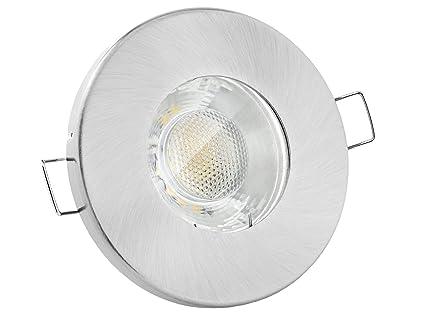 LED Einbaustrahler Decken Lampe Leuchte Strahler 230V 3 W  GU10 Bad Feuchtraum