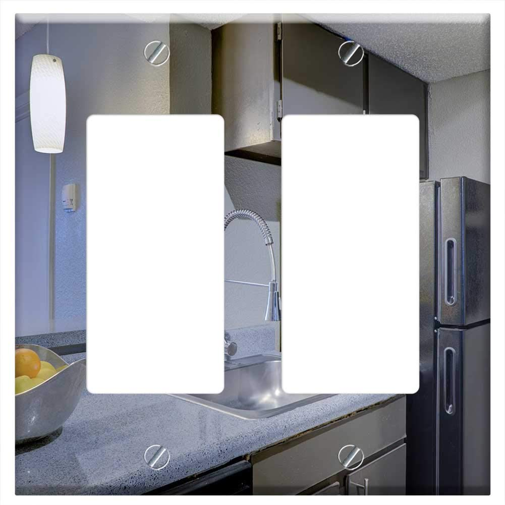 Switch Plate Double Rocker/GFCI - Kitchen Apartment Home Interior House Design