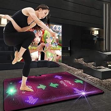 Amazon.com: Dance mat Double Yoga mat Somatosensory Game ...